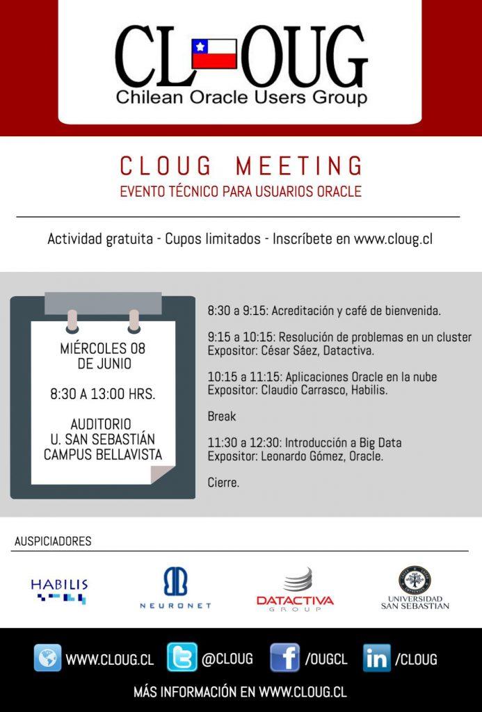 CLOUG_MEETING_agenda2016